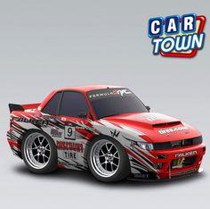 ¡Nuevo auto hoy en Car Town: el Nissan Daí Yoshiara FD S13 2012! Este auto de Drift, patrocinado por nuestros amigos de Discount Tire, es indispensable para cualquier corredor en Car Town. ¡Agarra hoy el tuyo!    05/11/2012
