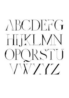 Distorted Fashion Free Font by Scribblez Grafix, via Behance