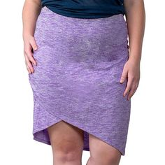 Plus Size Soybu Wren Asymmetrical Skirt, Women's, Size: 2XL, Med Purple
