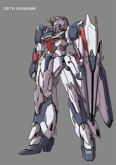 Zeta Gundam, custom design