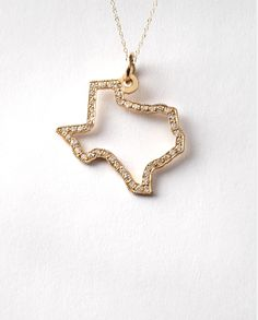 14k Pave - Choose your state! by Maya Brenner