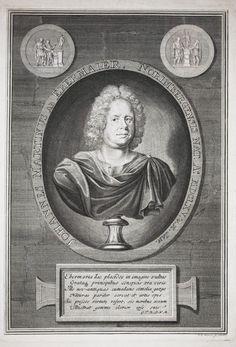 Ebermaier, Johann Martin (1664-1743), engraving ca. 1720