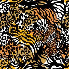 Ethereal Mixed Animal Skin Pattern by Svetlana Kononova Seamless Repeat Vector Royalty-Free Stock Pattern Print Patterns, Pattern Designs, Repeating Patterns, Ethereal, Animal Print Rug, Texture, Explore, Royalty, Menswear