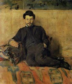 Henri de Toulouse-Lautrec, Self Portrait, 1883 on ArtStack #henri-de-toulouse-lautrec #art