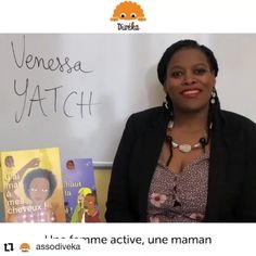 Venessa Yatch sur Instagram: #Repost @assodiveka • • • • • • Retrouver l'interview complète de @venessa_yatch autrice jeunesse de la série @jesuiskhadi sur notre igtv !…