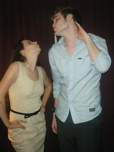 Love these two Cosplay actors! They do such a great job playing Edward and Bella in Forks for Stephenie Meyer Day.. <3