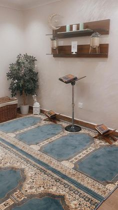 Home Room Design, Home Interior Design, Interior And Exterior, Interior Decorating, New Kitchen Interior, Prayer Corner, Islamic Decor, House Front Design, Prayer Room