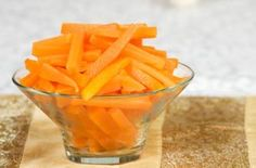 Low calorie snacks - Carrot batons with extra-light mayo dip - goodtoknow