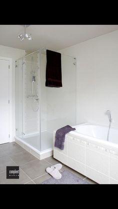 Kleuren badkamer, grijstinten - Huis: Badkamer | Pinterest ...