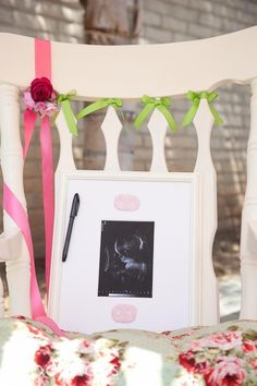 sign in for a baby shower?    baby shower-girl   Karas Party Ideas