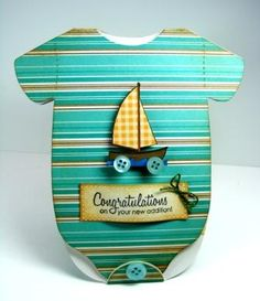 PMS Baby Onesie by Randee E - Cards and Paper Crafts at Splitcoaststampers