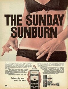 13 Red Hot Vintage Sunburn Ads