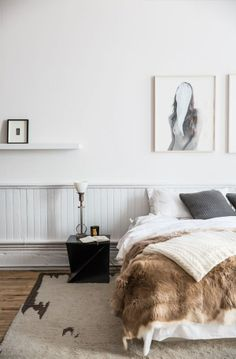 minimal bedroom design.