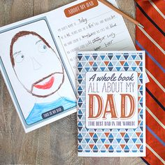 DIY Father's Day - Best Dad Book