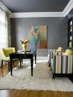 24 Fancy & Fabulous Feminine Office Design Ideas | Feminine office ...