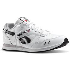 Reebok - GL 1500 - Color: Black-White - Size: 10.0US