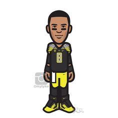 "Marcus Mariota Oregon Ducks ""Mach Speed"" Tyke. #NikeFootball #MarcusMariota #HeismanRace #Oregon #GoDucks #WinTheDay #WTD #Pac12 #football #collegefootball #tyke #tykes www.tykes.co"