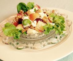 "#WaldorfSaladRefresh ""Sweet and Savory Waldorf Salad"""