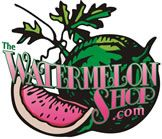 Everything you could ever think of watermelon. If I had a credit card, I'd probably max it out on this website.