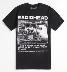 Fantastic Radiohead shirt...