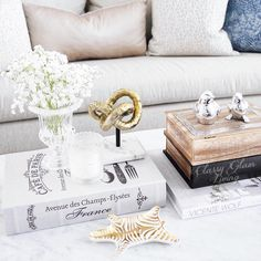 Coffee table styling | Classy Glam Living