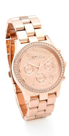 Yes please. Marc by Marc Jacobs Henry Glitz Chronograph Watch