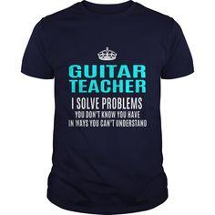 GUITAR TEACHER T-Shirts, Hoodies. ADD TO CART ==►…