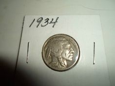 1934 buffalo nickel great starting bid @$1.69