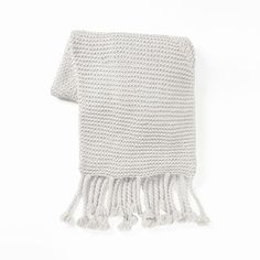Chunky Tassel Throw | west elm