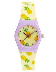 omg I need this for the summer / ASOS Pineapple Watch