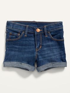 Saw this on Old Navy: Old Navy Toddler Girl, Baby Girl Pants, Leg Cuffs, Shop Old Navy, Dark Wash Jeans, Jean Shorts, Perfect Fit, Casual Shorts, Legs