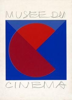 21- Victor Vasarely Essai de logo pour le musée du Cinéma, 1970