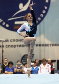 MCSMaria's Artistic Gymnastics Blog: Ksenia Afanaseyva on Floor At Russian Championships