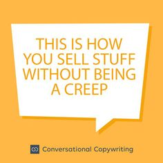 sell stuff without being a creep Sell Stuff, Copywriting, Reflection, Reading, Things To Sell, Reading Books