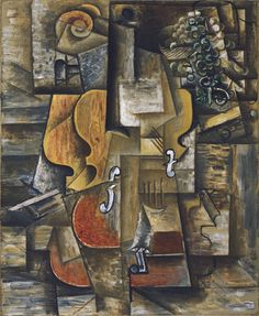 Pablo Picasso. Violin and Grapes. Céret and Sorgues, spring-summer 1912