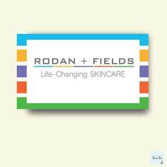 Rodan and Fields Business cards Elegant Rodan and Fields