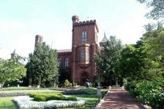 Smithsonian Castle. Summer 2014. Photo by rebecca kjolberg