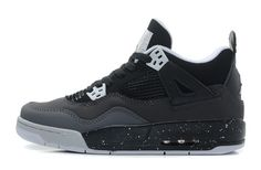 Men Womens Air Jordan Retro AJ4 1:1 Basketball Shoe Oreo Grey 36-47|only US$89.00 - follow me to pick up couopons.