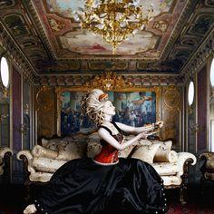 Alexia Sinclair photography - chicquero - Marie Antoinette, the extravagant queen  www.AustralianPerfumeJunkies.com