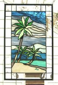 Image result for stained glass beach designs