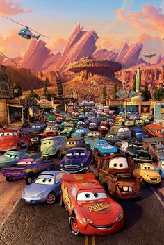 Let Cars inspire your animated movie costume
