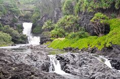 Ohe'o Pools aka Seven Sacred Pools- there are dozens of pools, not seven!
