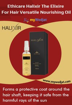 Forms a protective coat around the hair shaft, keeping it safe from  the harmful rays of the sun