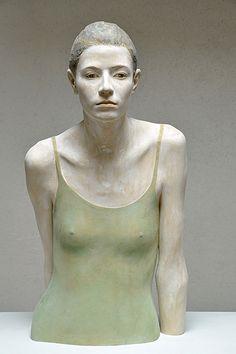 Bruno Walpoth Veronica - linden wood - 2013