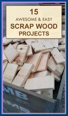 Looking for last minute DIY wood projects that would be good woodworking present ideas? Check out these easy woodworking projects and plans for beginner . * Know more details by click the image. Wood Projects For Kids, Scrap Wood Projects, Easy Projects, Pallet Projects, Easy Woodworking Ideas, Woodworking Projects For Kids, Woodworking Crafts, Woodworking Workbench, Custom Woodworking