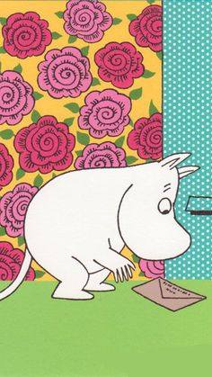 무민 심플 파스텔 배경화면 모음 : 네이버 블로그 Drawing Wallpaper, Pastel Wallpaper, Tove Jansson, Wildflower Drawing, Moomin Valley, Little My, A Comics, Drawing For Kids, Helsinki