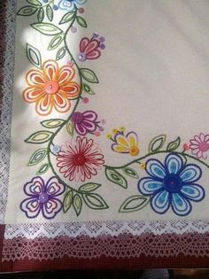 bordado mexicano patrones - Buscar
