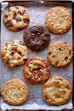 Crazy Cookie Dough: You won't believe all of the cookie flavors you can get from one plain cookie dough like Chocolate Chip, Salted Caramel or even Peanut butter!! Click and find out how