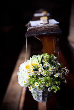 Flowers - Basket - Daisies - Fiori - Margherite - Cestino di fiori - Cestino