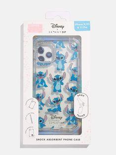 Iphone Cases Disney, Pretty Iphone Cases, Cute Phone Cases, Iphone Phone Cases, Iphone Case Covers, Disney Stitch, Cute Stitch, Stitch Pictures, Ipod